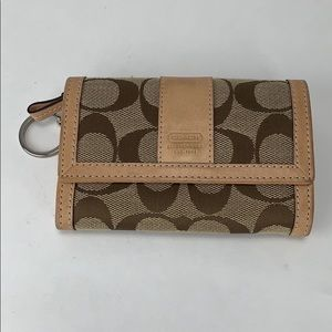 Coach Wallet With Classic C